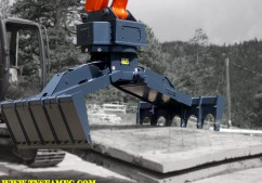 grapples, power clam, rig mat grapple, mat handlers, material handling grapples, excavator mat grapple, oak mat grapple, oak mats, wood mats, rubber mats, poly mats, hydraulic excavator powerclam, rotating mat grapple, rotating grapple