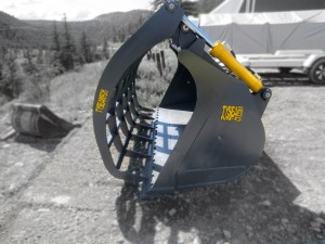Heavy Duty Wheel loader corral buckets