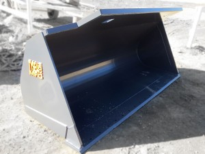 HEAVY DUTY GREY GENERAL PURPOSE BUCKET MANUFACTURED BY TYSEA MFG INC.