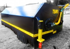wheel loader pick up sweeper broom