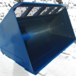 Tysea's Wheel loader snow buckets are manufactured with lightweight materials to hold the largest capacities possible in regards to machine abilities.  These buckets are ideal for hog fuel, woodchips, snow and other lightweight materials.
