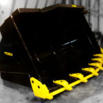 Tysea's Wheel loader spade nose, or rock buckets feature an incredibly robust design.  These buckets are used in heavy duty rock digging applications withstanding high impaction and abrasions.