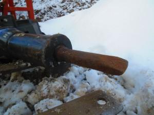 Skid steer bobcat hydraulic breaker hammer (2)