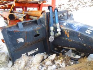 Skid steer bobcat hydraulic breaker hammer (3)