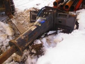Skid steer bobcat hydraulic breaker hammer (5)